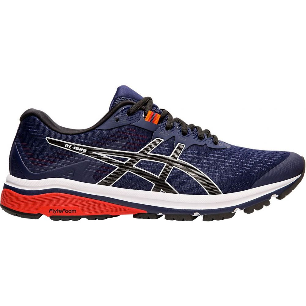 アシックス ASICS メンズ ランニング・ウォーキング シューズ・靴【GT-1000 8 Running Shoes】Blue/Black/Red