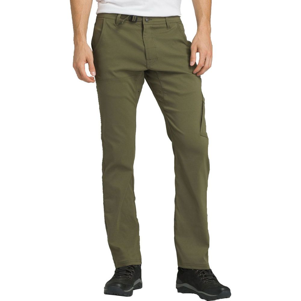 プラーナ prAna メンズ ボトムス・パンツ 【Stretch Zion Straight Pants (Regular and Big & Tall)】Cargo Green
