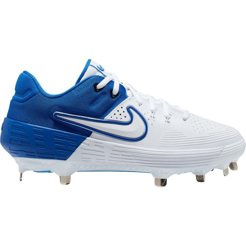 ナイキ Nike レディース 野球 スパイク シューズ・靴【Zoom Hyperdiamond 3 Elite Metal Fastpitch Softball Cleats】Royal/White