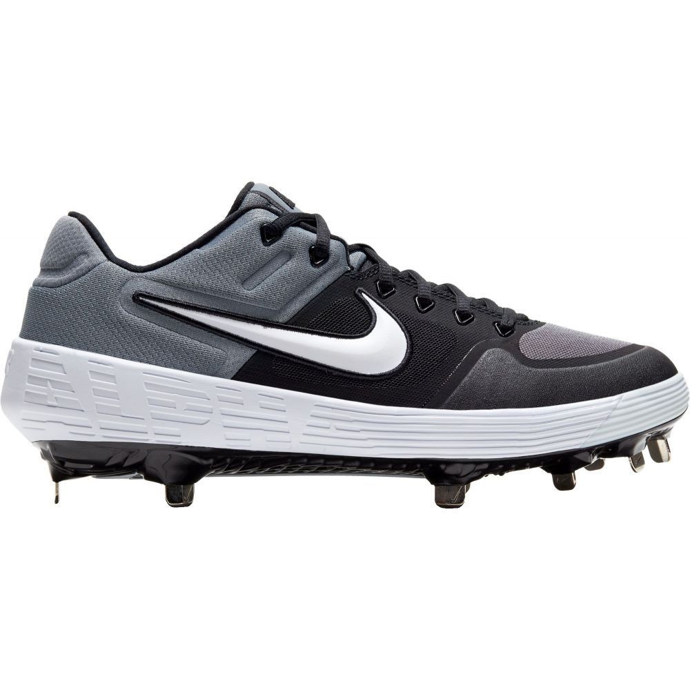 ナイキ Nike メンズ 野球 スパイク シューズ・靴【Alpha Huarache Elite 2 Metal Baseball Cleats】Black/Grey