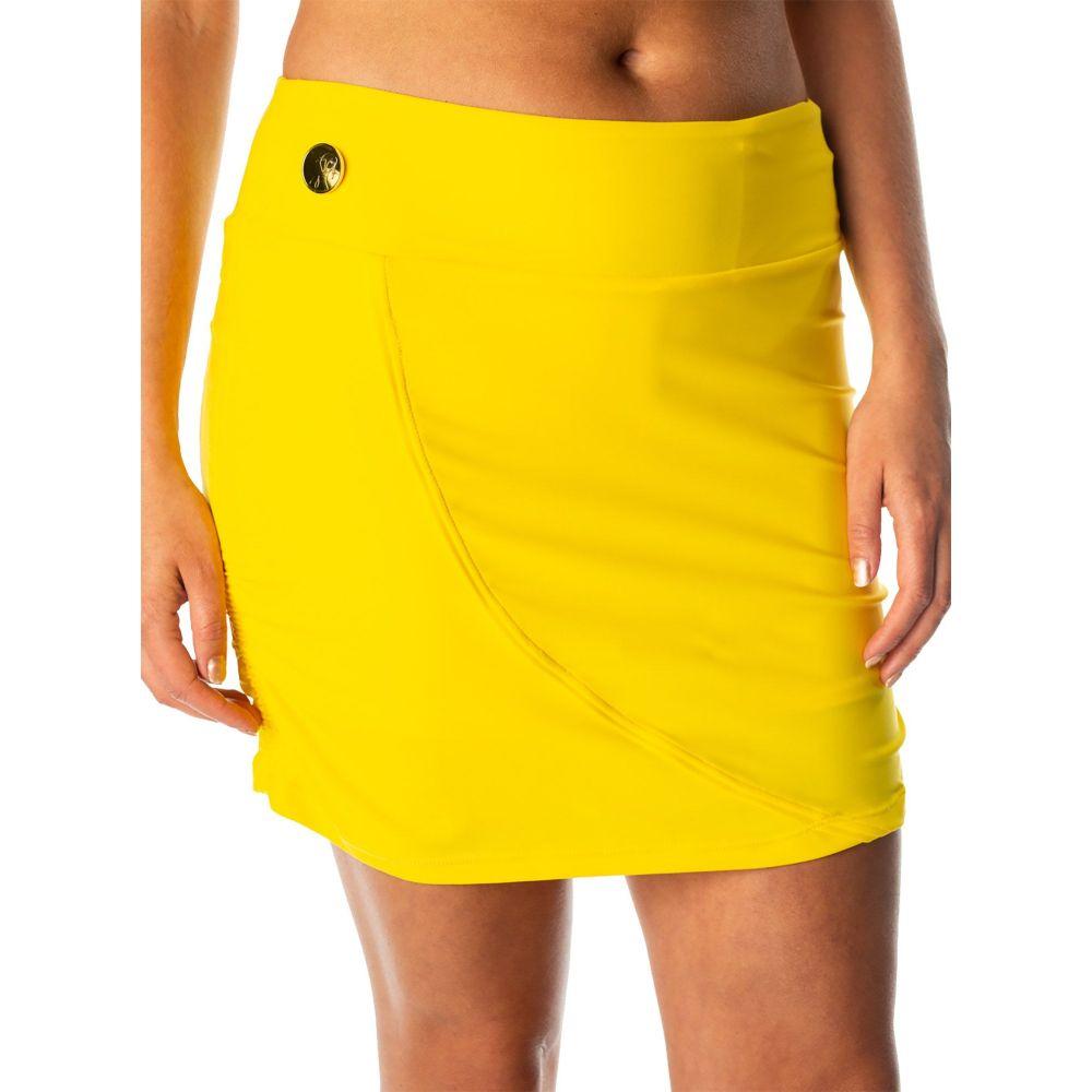 スウィングディッシュ SwingDish レディース ゴルフ スカート ボトムス・パンツ【Olivia Golf Skort】Yellow