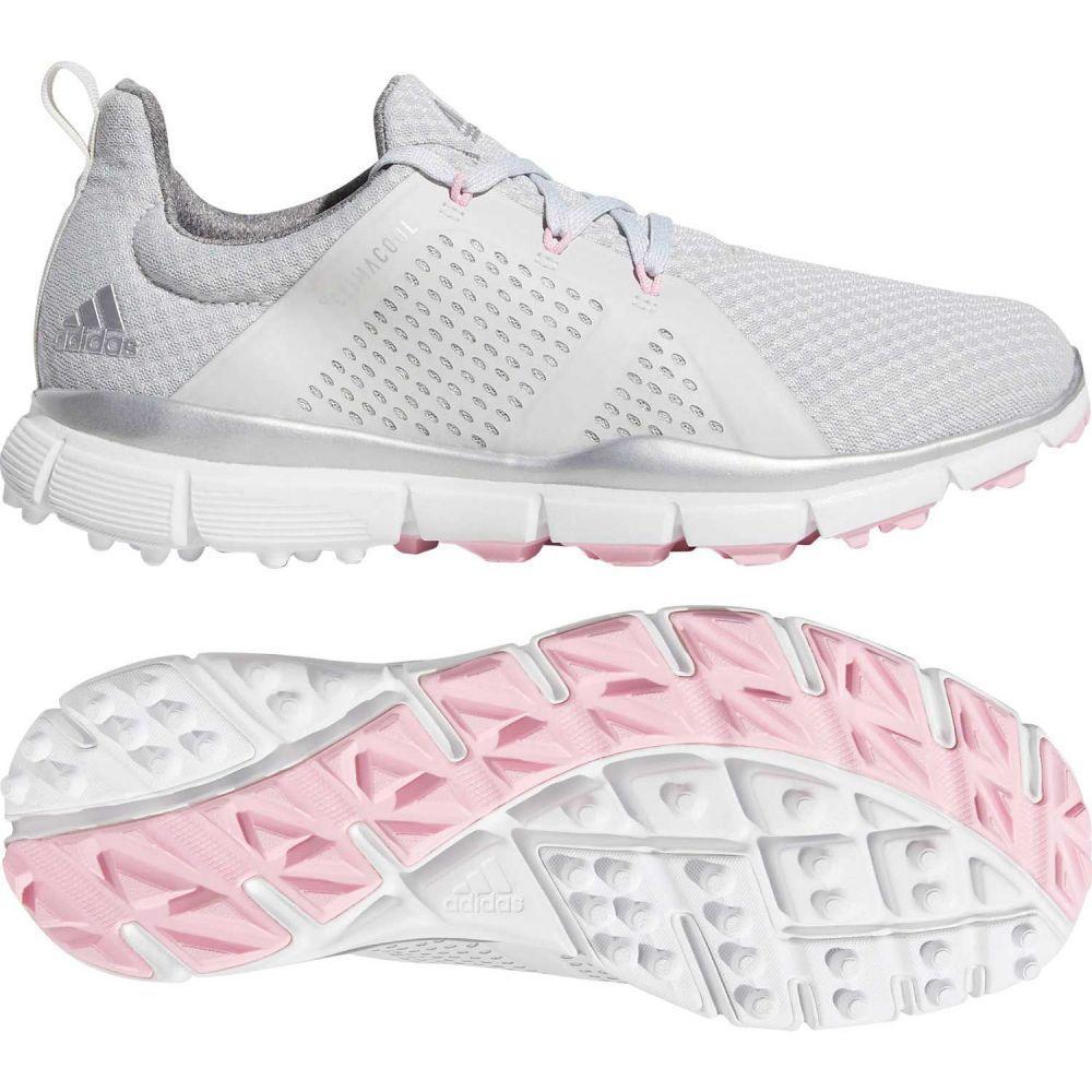 アディダス adidas レディース ゴルフ シューズ・靴【climacool Cage Golf Shoes】Grey/Pink