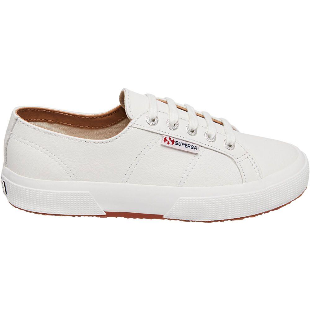 スペルガ Superga レディース スニーカー シューズ・靴【2750 NAPPALEAU Leather Classic Shoes】White/Leather
