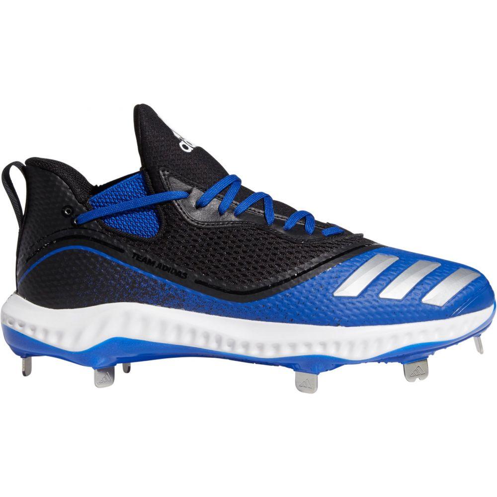 アディダス adidas メンズ 野球 スパイク シューズ・靴【Icon V Bounce Metal Baseball Cleats】Black/Royal