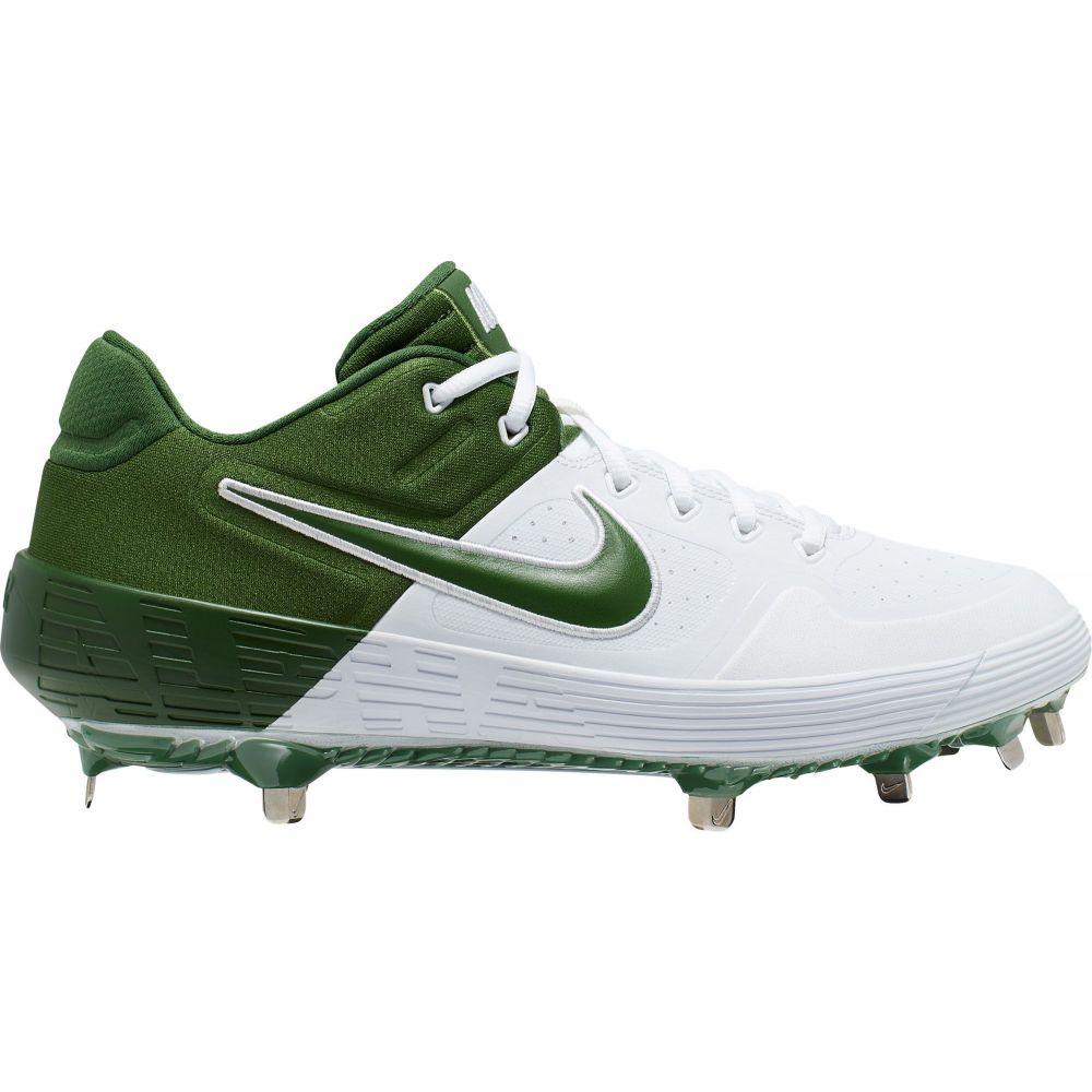 ナイキ Nike メンズ 野球 スパイク シューズ・靴【Alpha Huarache Elite 2 Metal Baseball Cleats】White/Green