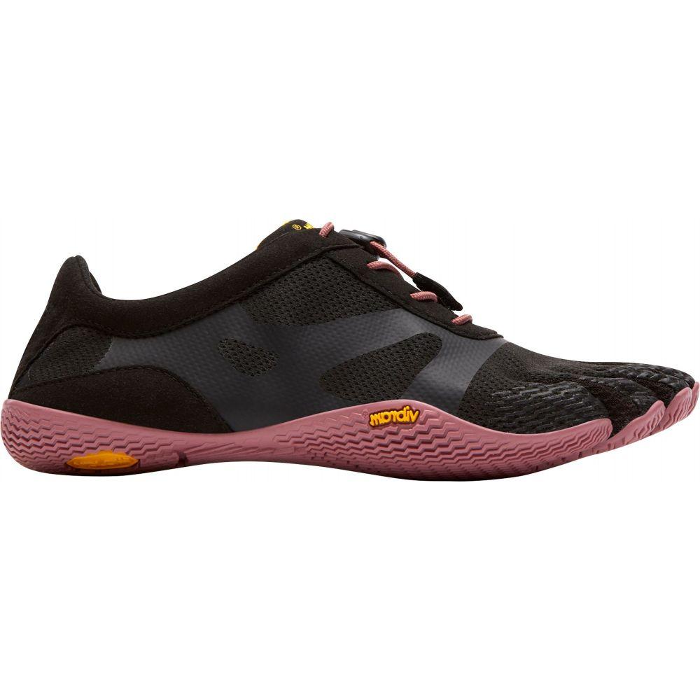 ビブラム Vibram レディース フィットネス・トレーニング ファイブフィンガーズ シューズ・靴【FiveFingers KSO EVO Training Shoes】Black/Rose