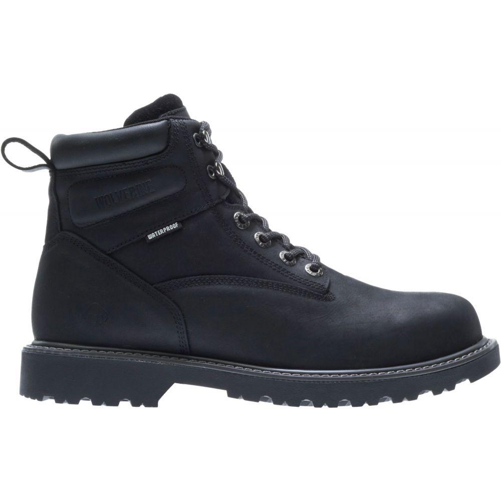 ウルヴァリン Wolverine メンズ ブーツ ワークブーツ シューズ・靴【Floorhand 6'' Waterproof Steel Toe Work Boots】Black