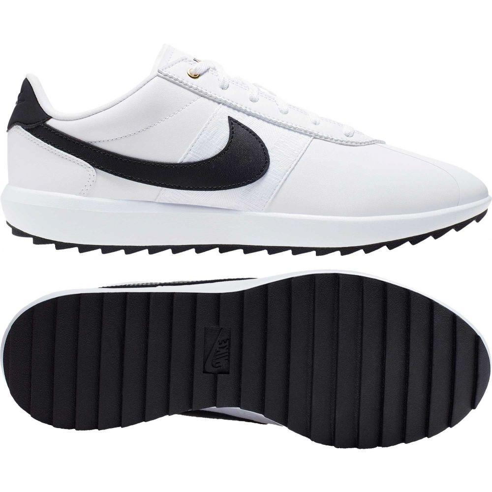 ナイキ Nike レディース ゴルフ シューズ・靴【Cortez G Golf Shoes】White/Black