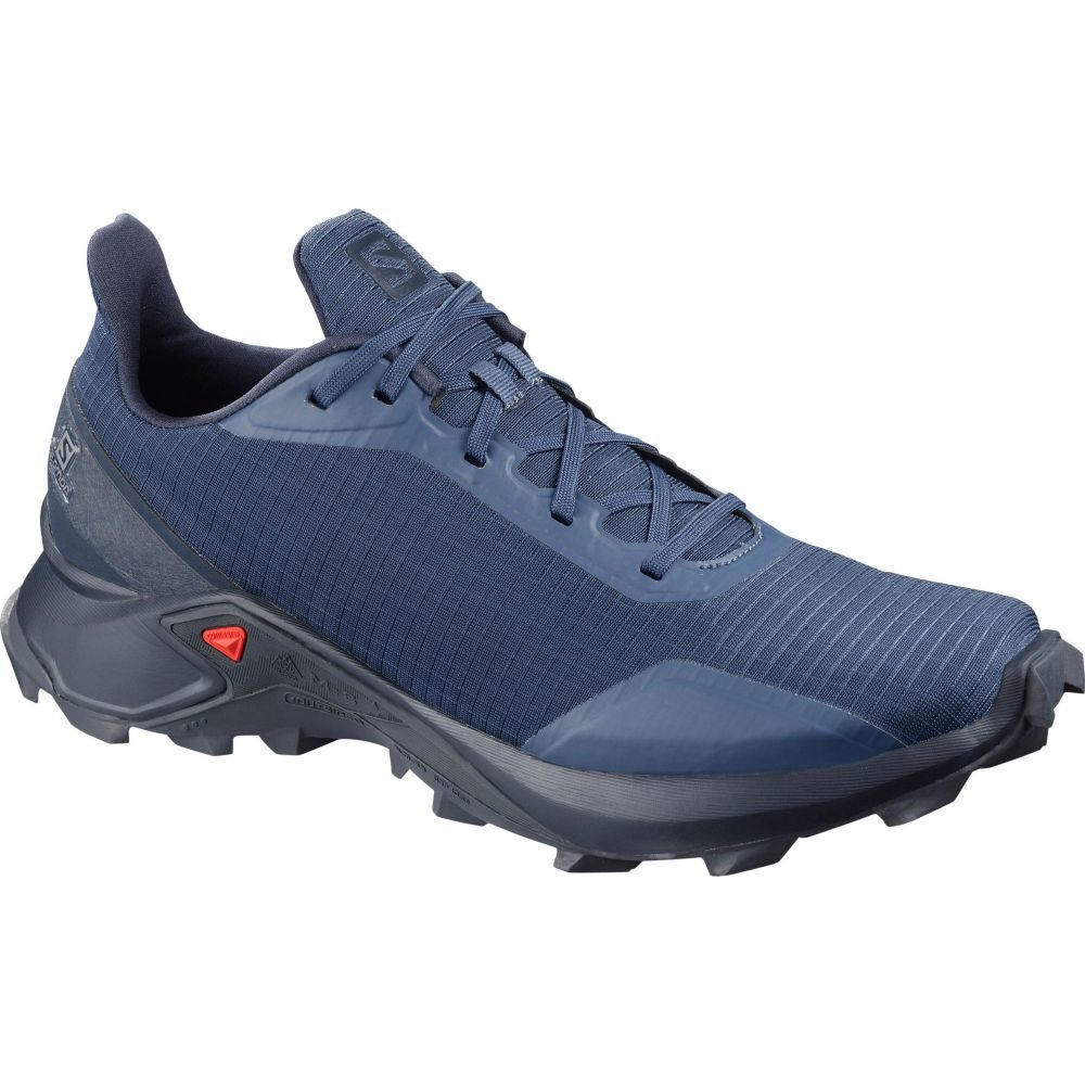 サロモン Salomon メンズ ランニング・ウォーキング シューズ・靴【Alphacross Trail Running Shoes】Navy