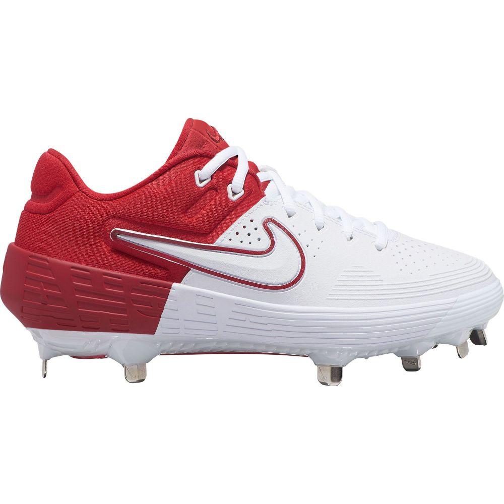 ナイキ Nike レディース 野球 スパイク シューズ・靴【Zoom Hyperdiamond 3 Elite Metal Fastpitch Softball Cleats】Red/White