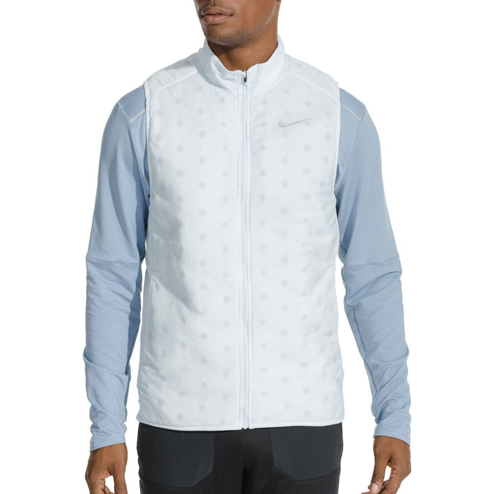 ナイキ Nike メンズ ランニング・ウォーキング ベスト・ジレ トップス【AeroLayer Running Vest】Football Grey
