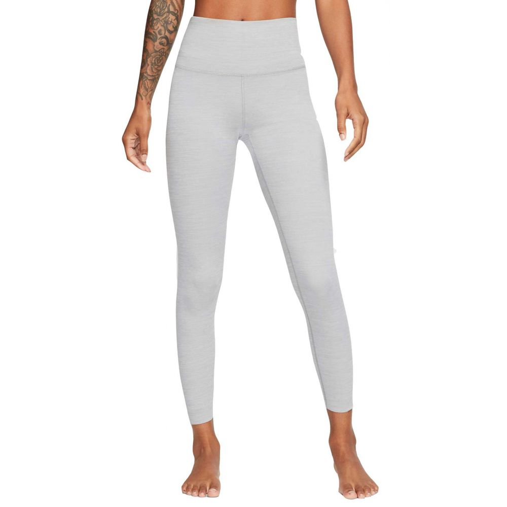ナイキ Nike レディース ヨガ・ピラティス スパッツ・レギンス ボトムス・パンツ【Yoga Luxe High Rise 7/8 Tights】Particle Grey