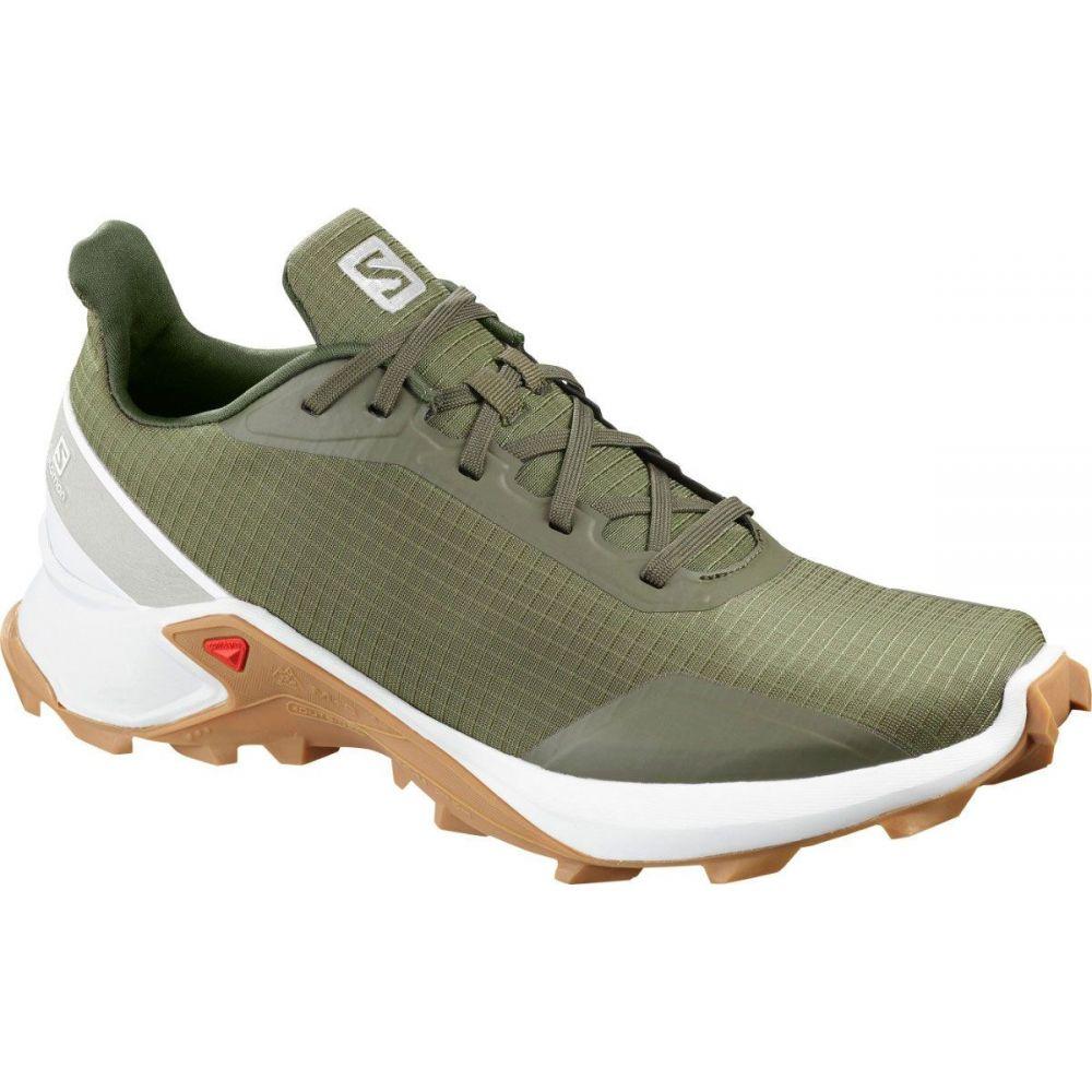 サロモン Salomon メンズ ランニング・ウォーキング シューズ・靴【Alphacross Trail Running Shoes】Olive