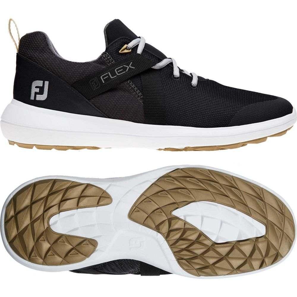 フットジョイ FootJoy メンズ ゴルフ シューズ・靴【Flex Golf Shoes】Black