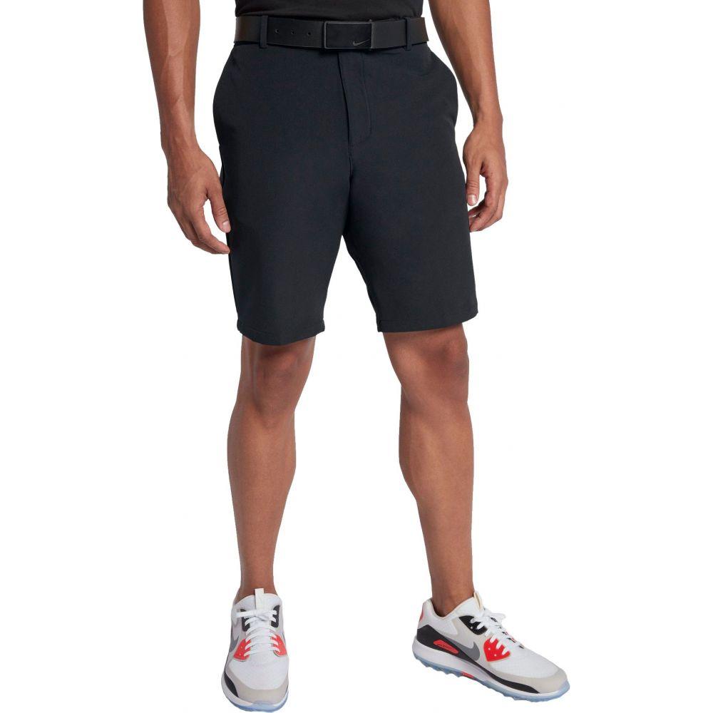 ナイキ Nike メンズ ゴルフ ショートパンツ ボトムス・パンツ【Solid Slim Fit Flex Golf Shorts】Black/Flt Silver