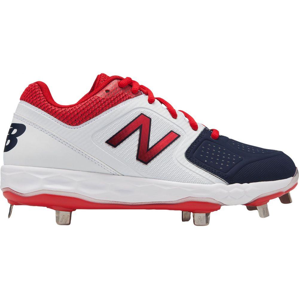 ニューバランス New Balance レディース 野球 スパイク シューズ・靴【Fresh Foam Velo 1 Metal Fastpitch Softball Cleats】Red/Blue
