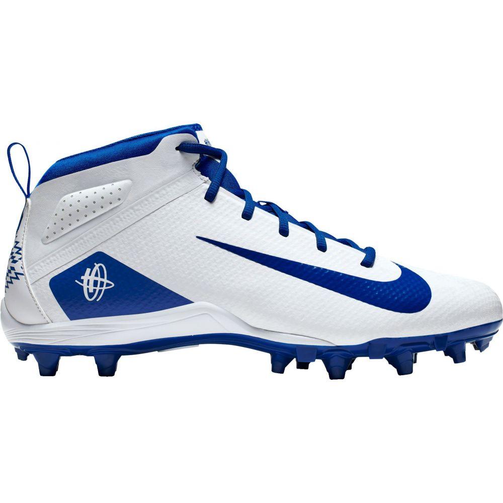 ナイキ Nike メンズ ラクロス スパイク シューズ・靴【Alpha Huarache 7 Varsity Mid Lacrosse Cleats】White/Blue
