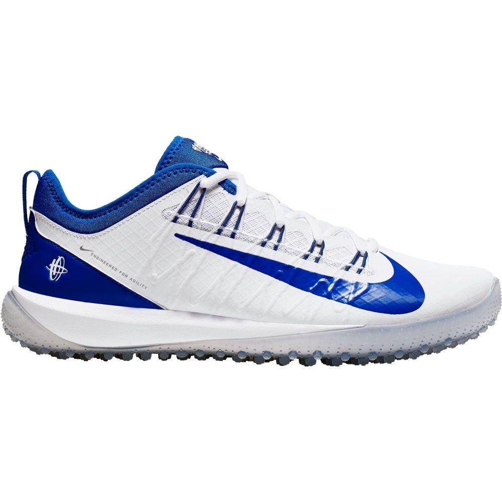 ナイキ Nike メンズ ラクロス スパイク シューズ・靴【Alpha Huarache 7 Pro Turf Lacrosse Cleats】White/Royal