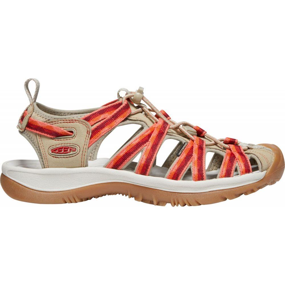 キーン Keen レディース サンダル・ミュール シューズ・靴【KEEN Whisper Sandals】Safari