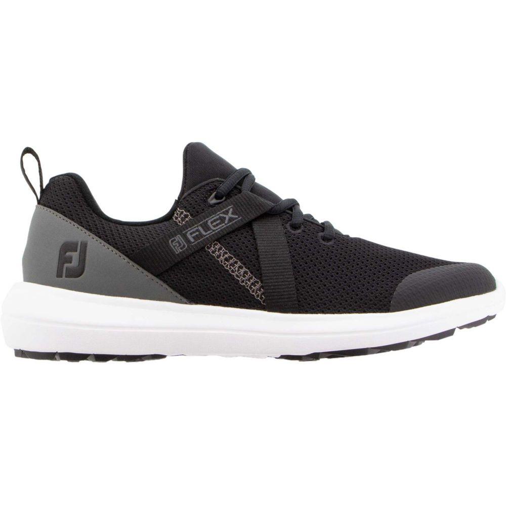 フットジョイ FootJoy レディース ゴルフ シューズ・靴【Flex Golf Shoes】Black/Charcoal