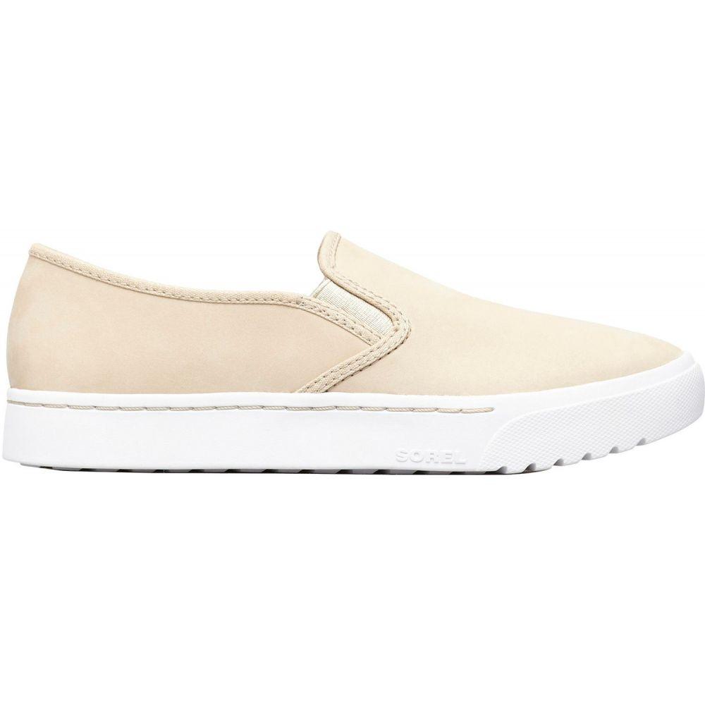 ソレル SOREL レディース スリッポン・フラット シューズ・靴【Campsneak Slip-On Casual Shoes】Oatmeal