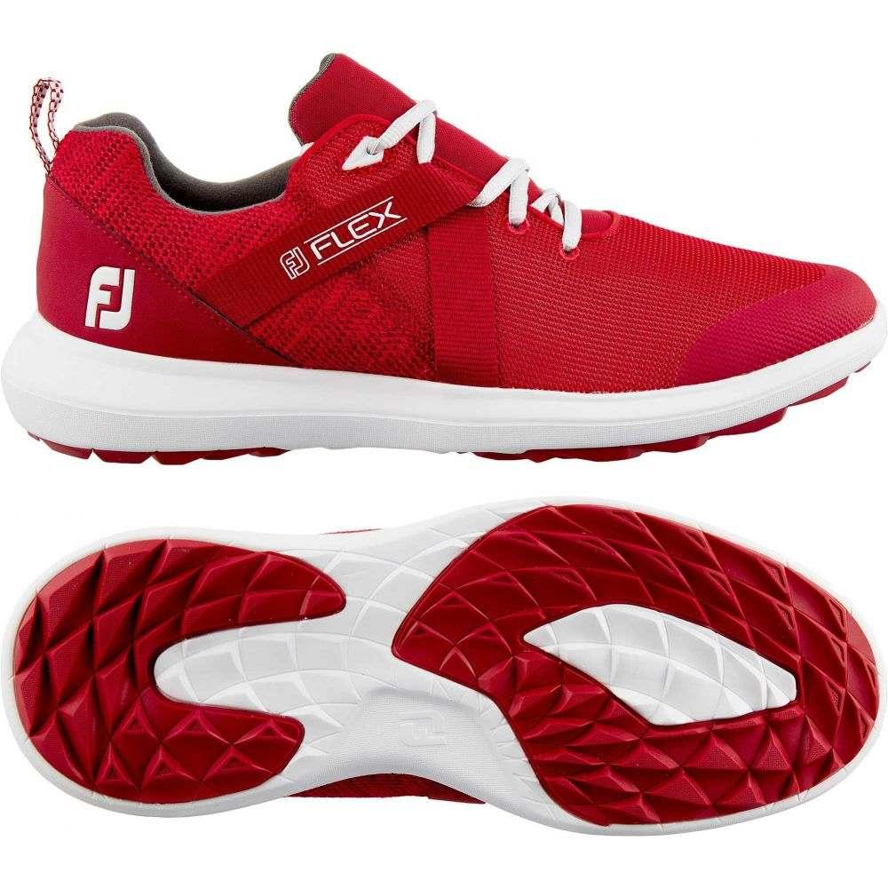 フットジョイ FootJoy メンズ ゴルフ シューズ・靴【Flex Golf Shoes】Red