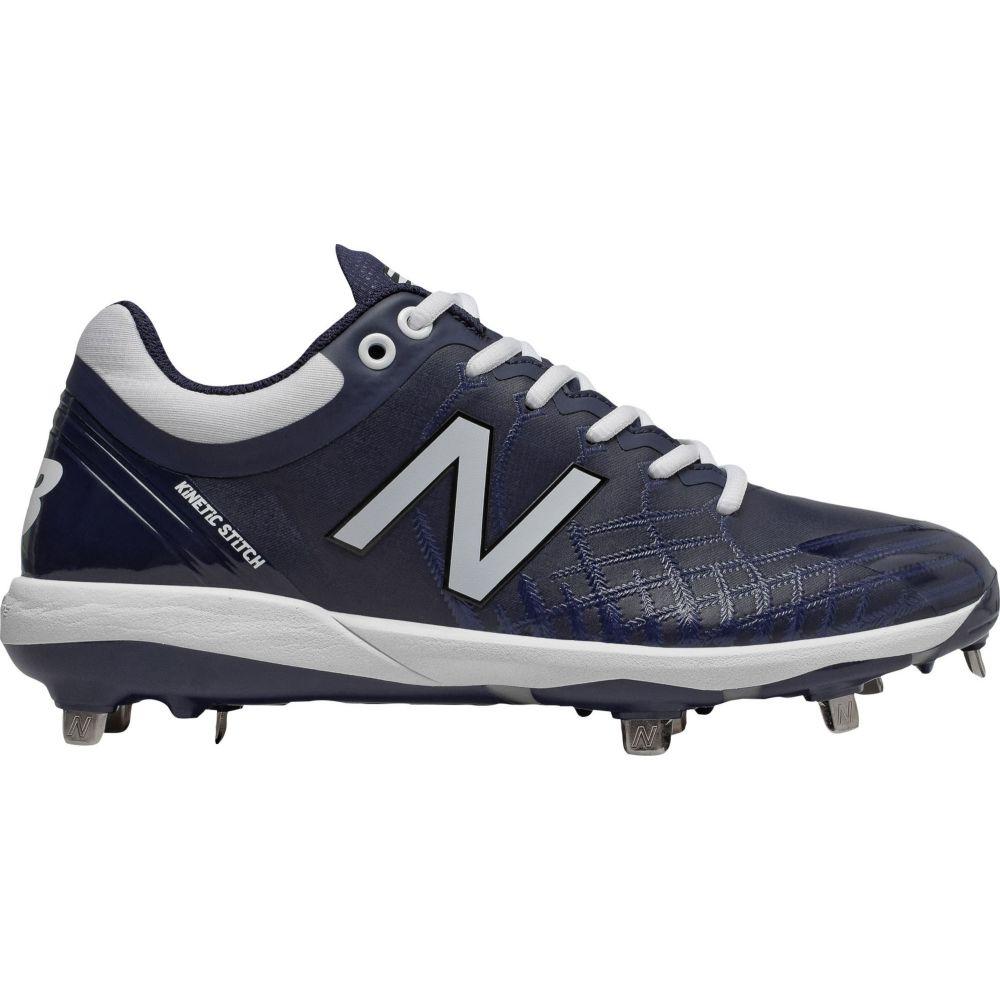 ニューバランス New Balance メンズ 野球 スパイク シューズ・靴【4040 v5 Metal Baseball Cleats】Navy/White