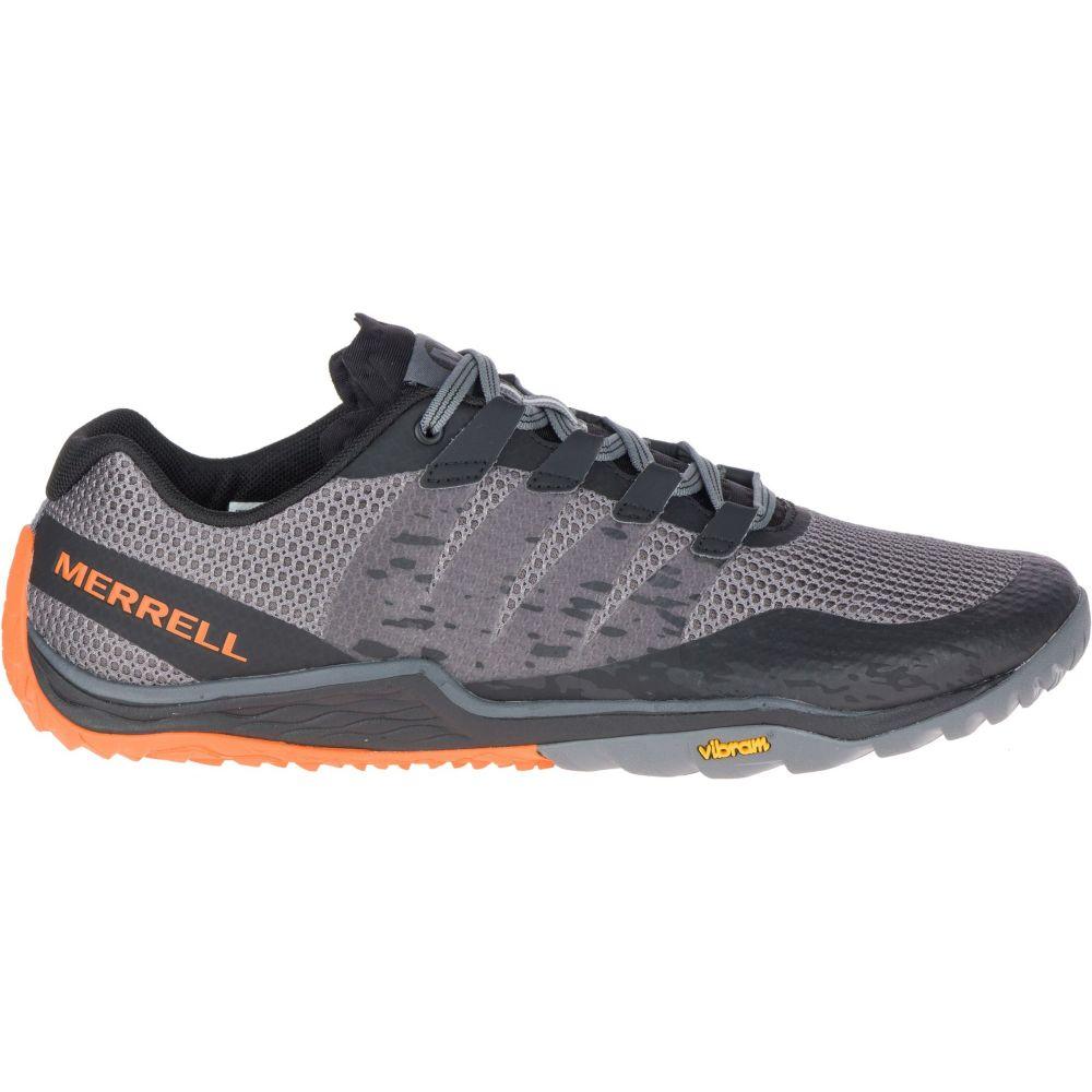 メレル Merrell メンズ ランニング・ウォーキング シューズ・靴【Merell Trail Glove 4 Trail Running Shoes】Grey