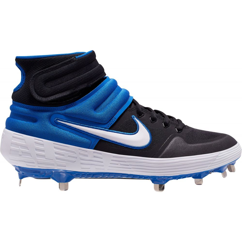 ナイキ Nike メンズ 野球 スパイク シューズ・靴【Alpha Huarache Elite 2 Mid Metal Baseball Cleats】Royal/Black