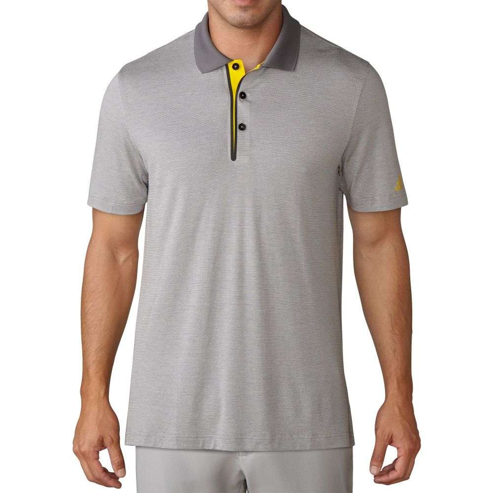 アディダス adidas メンズ ゴルフ トップス【Club Wool Blend Golf Polo】Vista Grey Heather