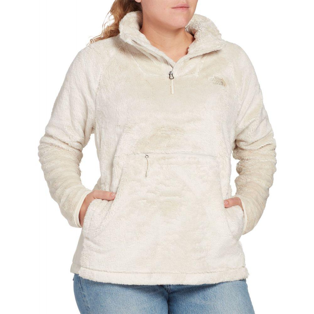 ザ ノースフェイス The North Face レディース フリース トップス【Osito Sport Hybrid 1/4 Zip Fleece Pullover】Vintage White