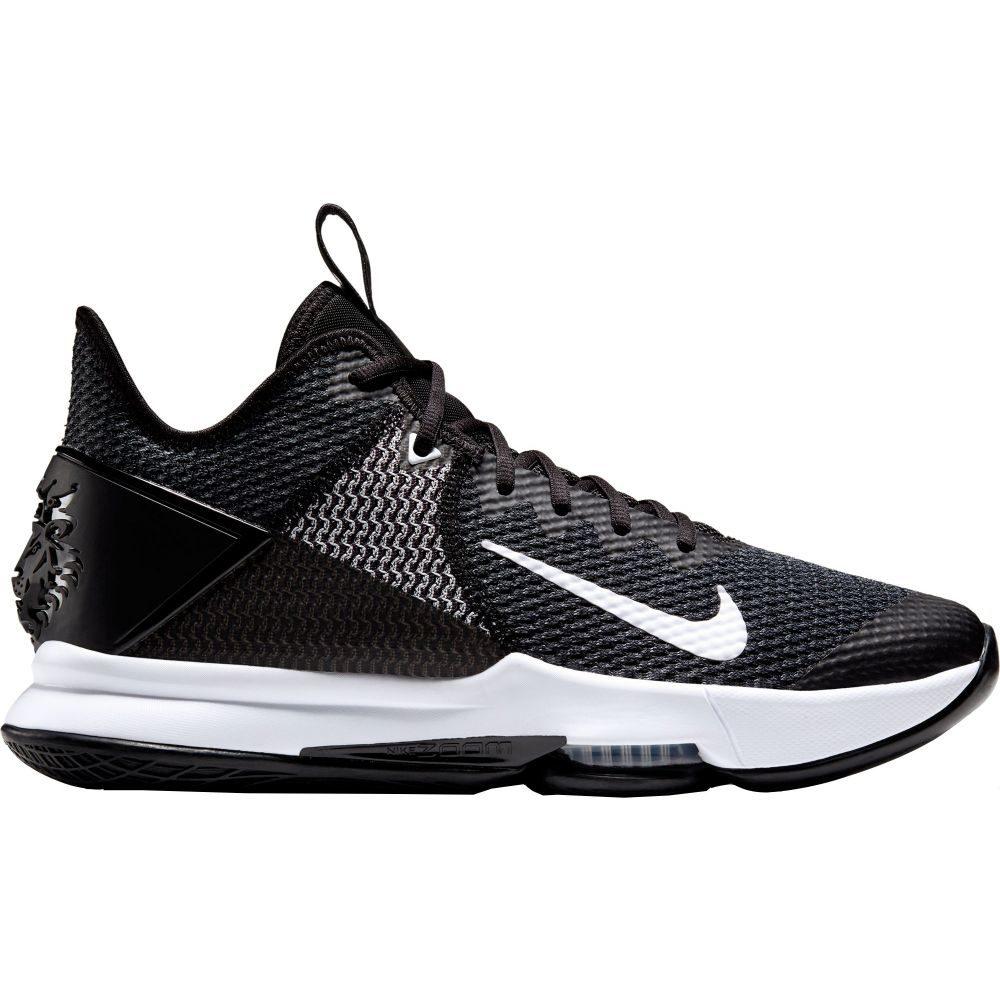 ナイキ Nike メンズ バスケットボール シューズ・靴【LeBron Witness 4 Basketball Shoes】Blue/Wht/Blk