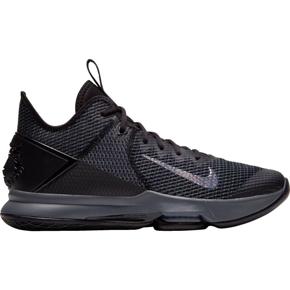ナイキ Nike メンズ バスケットボール シューズ・靴【LeBron Witness 4 Basketball Shoes】Black/Black Anthracite