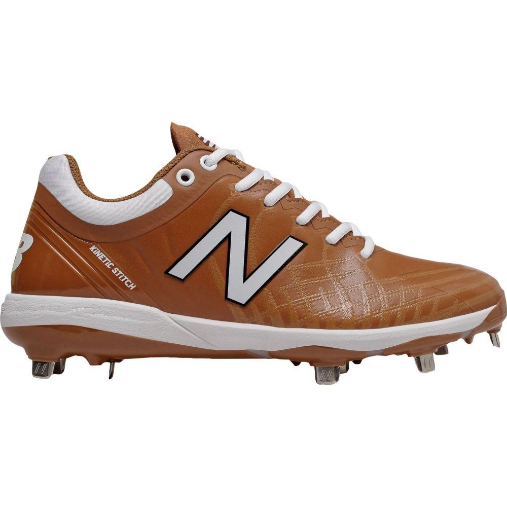 ニューバランス New Balance メンズ 野球 スパイク シューズ・靴【4040 v5 Metal Baseball Cleats】Orange/White