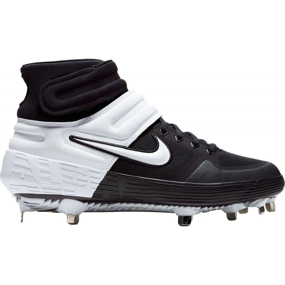 ナイキ Nike メンズ 野球 スパイク シューズ・靴【Alpha Huarache Elite 2 Mid Metal Baseball Cleats】Black/White/Black