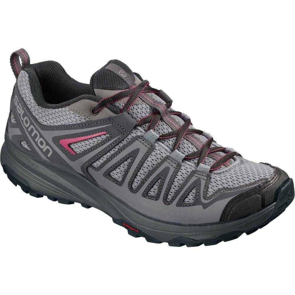 サロモン Salomon レディース ハイキング・登山 シューズ・靴【X Crest Hiking Shoes】Alloy
