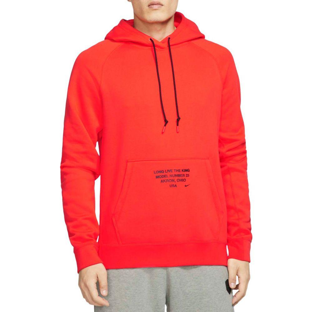 ナイキ Nike メンズ バスケットボール パーカー トップス【LeBron Basketball Hoodie】Team Orange