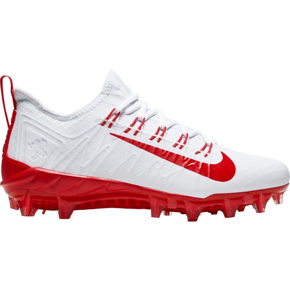 ナイキ Nike メンズ ラクロス スパイク シューズ・靴【Alpha Huarache 7 Pro Lacrosse Cleats】White/Red