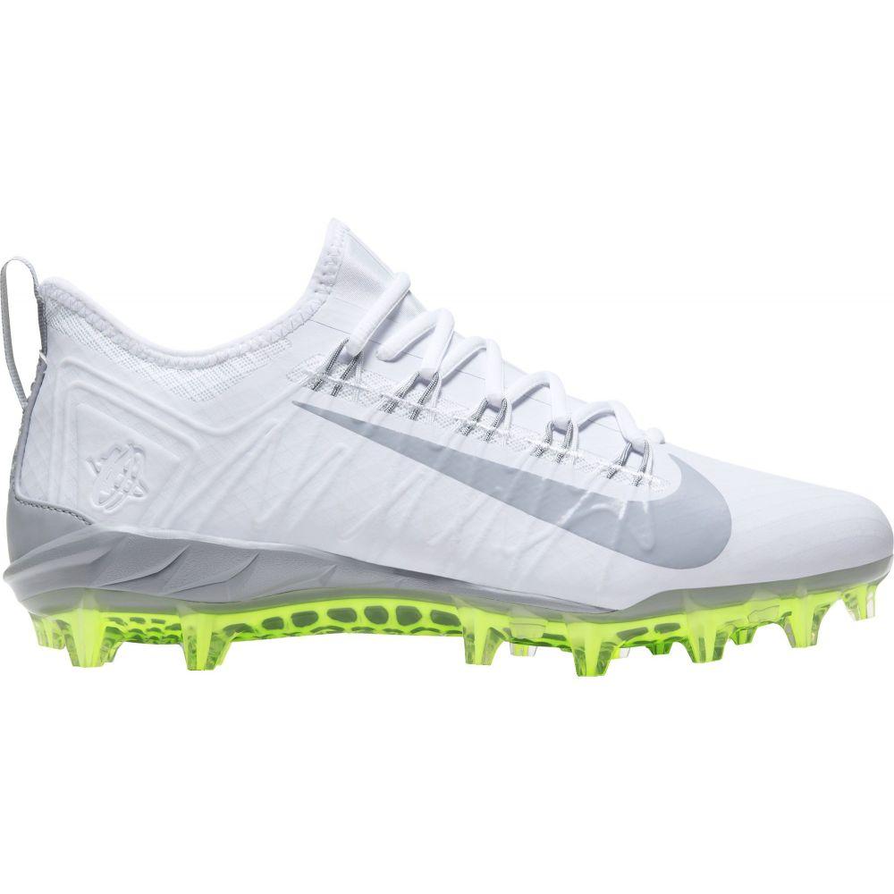 ナイキ Nike メンズ ラクロス スパイク シューズ・靴【Alpha Huarache 7 Pro Lacrosse Cleats】White/Grey