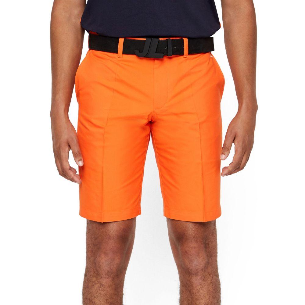ジェイ リンドバーグ メンズ ゴルフ ボトムス・パンツ 【サイズ交換無料】 ジェイ リンドバーグ J.Lindeberg メンズ ゴルフ ショートパンツ ボトムス・パンツ【Somle Tapered Golf Shorts】Juicy Orange