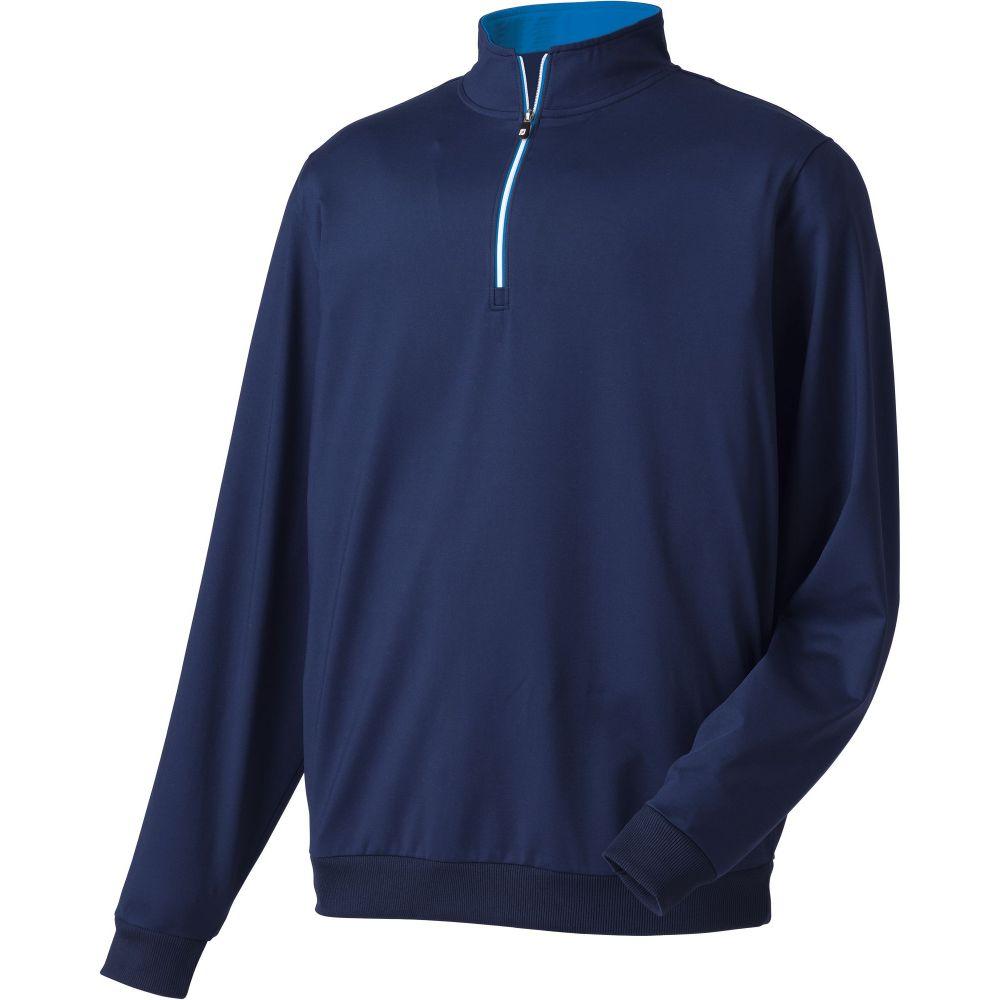 フットジョイ FootJoy メンズ ゴルフ トップス【Half-Zip Golf Pullover】Navy