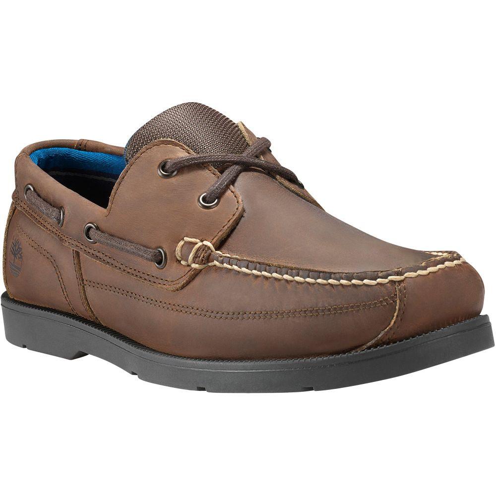 ティンバーランド Timberland メンズ デッキシューズ シューズ・靴【Piper Cove Boat Shoes】Brown Oiled