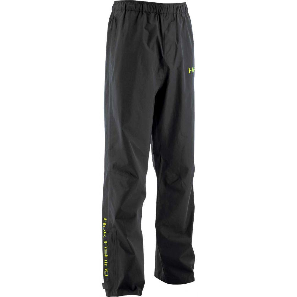 ハック HUK メンズ ボトムス・パンツ 【Huk Packable Rain Pants】Black