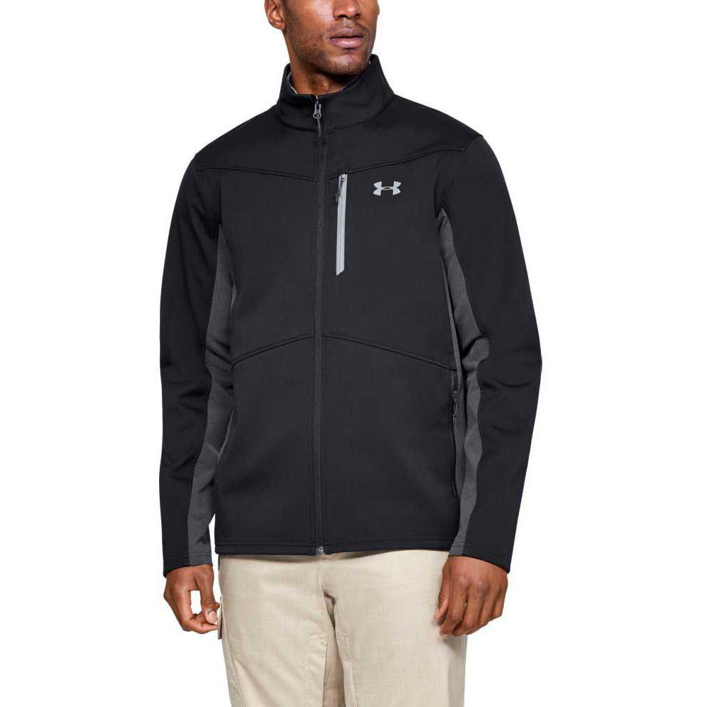 アンダーアーマー Under Armour メンズ ジャケット ソフトシェルジャケット アウター【Softshell Jacket (Regular and Big & Tall)】Black