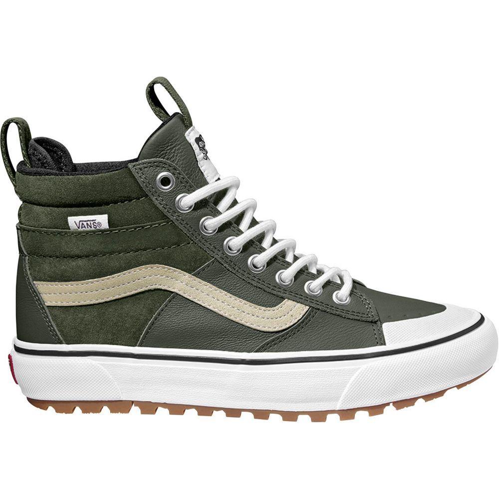 ヴァンズ Vans レディース スニーカー シューズ・靴【SK8-Hi MTE Shoes】Olive/White