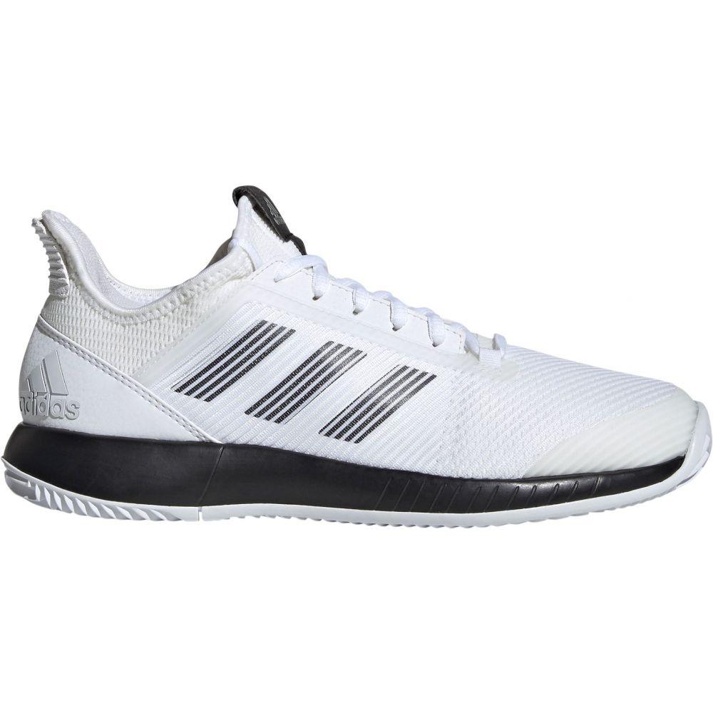 アディダス adidas レディース テニス シューズ・靴【Defiant Bounce 2 Tennis Shoes】White/Black