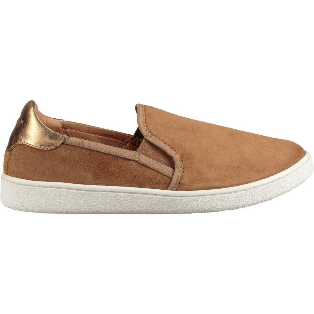 アグ UGG レディース スリッポン・フラット シューズ・靴【Casual Slip-On Shoes】Chestnut