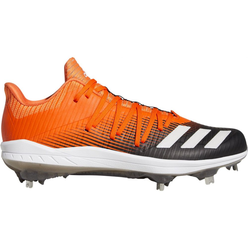 アディダス adidas メンズ 野球 スパイク シューズ・靴【adizero Afterburner 6 Metal Baseball Cleats】Orange/Black