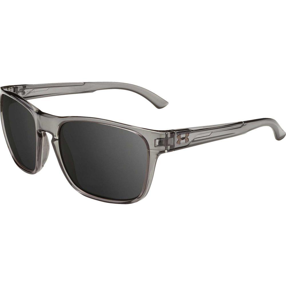 アンダーアーマー Under Armour メンズ メガネ・サングラス 【Glimpse Multiflection Sunglasses】Gloss Crystal Smoke/Gray Multiflection Lens