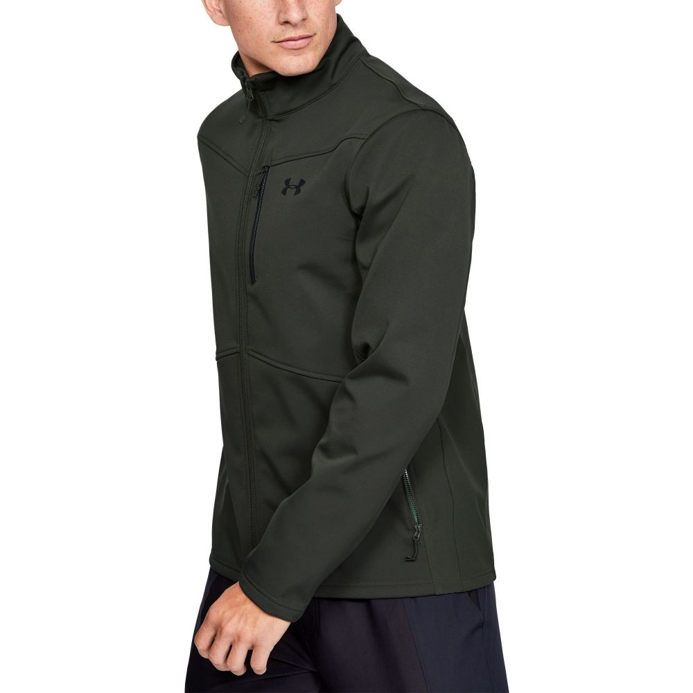アンダーアーマー Under Armour メンズ ジャケット ソフトシェルジャケット アウター【Softshell Jacket (Regular and Big & Tall)】Baroque Green